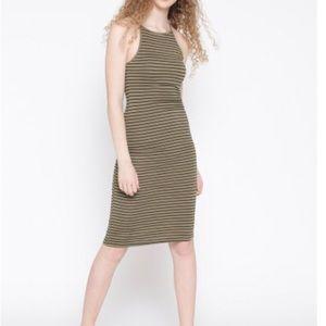 Forever 21 ribbed striped dress